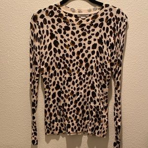 H&M Cheetah Print Sweater